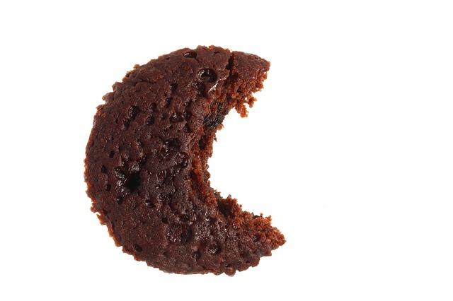 nakousnutý koláček