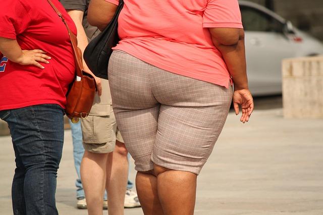 žena s obezitou